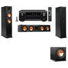 Klipsch RP-260F Tower Speakers-R112SW-3.1-Denon AVR-X4100W