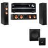 Klipsch RP-260F Tower Speakers-SW-112-3.1-Onkyo TX-NR838