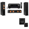 Klipsch RP-260F Tower Speakers-SW-112-3.1-Denon AVR-X4100W