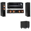 Klipsch RP-260F Tower Speakers-SDS12-3.1-Onkyo TX-NR838