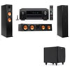 Klipsch RP-260F Tower Speakers-SDS12-3.1-Denon AVR-X4100W