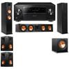 Klipsch RP-260F Tower Speakers-RP-450C-R112SW-5.1-Pioneer Elite SC-85