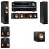 Klipsch RP-260F Tower Speakers-R112SW-5.1-Onkyo TX-NR838