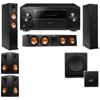 Klipsch RP-260F Tower Speakers-RP-450C-SW-112-5.1-Pioneer Elite SC-85