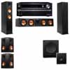 Klipsch RP-260F Tower Speakers-SW-112-5.1-Onkyo TX-NR838
