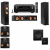 Klipsch RP-260F Tower Speakers-SW-112-5.1-Denon AVR-X4100W