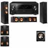 Klipsch RP-260F Tower Speakers-RP-450C-PL-200-5.1-Pioneer Elite SC-85