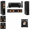 Klipsch RP-260F Tower Speakers-PL-200-5.1-Denon AVR-X4100W