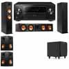 Klipsch RP-260F Tower Speakers-RP-450C-SDS12-5.1-Pioneer Elite SC-85