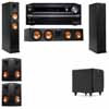 Klipsch RP-260F Tower Speakers-SDS12-5.1-Onkyo TX-NR838