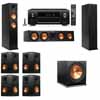 Klipsch RP-260F Tower Speakers-7.1-Denon AVR-X4100W