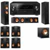 Klipsch RP-260F Tower Speakers-RP-450C-R112SW-7.1-Pioneer Elite SC-85
