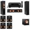 Klipsch RP-260F Tower Speakers-R112SW-7.1-Denon AVR-X4100W