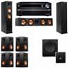 Klipsch RP-260F Tower Speakers-SW-112-7.1-Onkyo TX-NR838