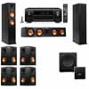 Klipsch RP-260F Tower Speakers-SW-112-7.1-Denon AVR-X4100W