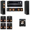 Klipsch RP-260F Tower Speakers-PL-200-7.1-Onkyo TX-NR838