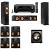 Klipsch RP-260F Tower Speakers-PL-200-7.1-Denon AVR-X4100W