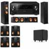 Klipsch RP-260F Tower Speakers-RP-450C-SDS12-7.1-Pioneer Elite SC-85
