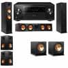 Klipsch RP-260F Tower Speakers-RP-450C-R112SW-5.2-Pioneer Elite SC-85