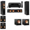 Klipsch RP-260F Tower Speakers-R112SW-5.2-Denon AVR-X4100W