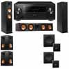 Klipsch RP-260F Tower Speakers-RP-450C-SW-112-5.2-Pioneer Elite SC-85
