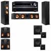 Klipsch RP-260F Tower Speakers-SW-112-5.2-Onkyo TX-NR838