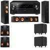 Klipsch RP-260F Tower Speakers-RP-450C-SDS12-5.2-Pioneer Elite SC-85