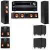 Klipsch RP-260F Tower Speakers-SDS12-5.2-Onkyo TX-NR838