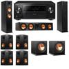 Klipsch RP-260F Tower Speakers-RP-450C-R112SW-7.2-Pioneer Elite SC-85