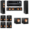 Klipsch RP-260F Tower Speakers-R112SW-7.2-Onkyo TX-NR838