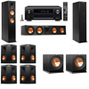 Klipsch RP-260F Tower Speakers-R112SW-7.2-Denon AVR-X4100W