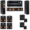 Klipsch RP-260F Tower Speakers-SW-112-7.2-Onkyo TX-NR838