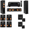 Klipsch RP-260F Tower Speakers-SW-112-7.2-Denon AVR-X4100W