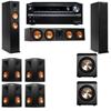 Klipsch RP-260F Tower Speakers-PL-200-7.2-Onkyo TX-NR838