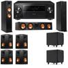 Klipsch RP-260F Tower Speakers-RP-450C-SDS12-7.2-Pioneer Elite SC-85