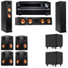 Klipsch RP-260F Tower Speakers-SDS12-7.2-Onkyo TX-NR838