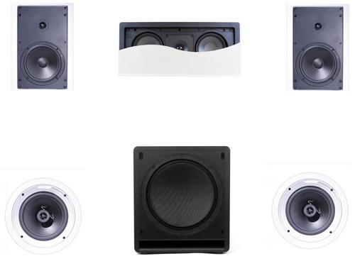 Klipsch R1650 In Wall System #5