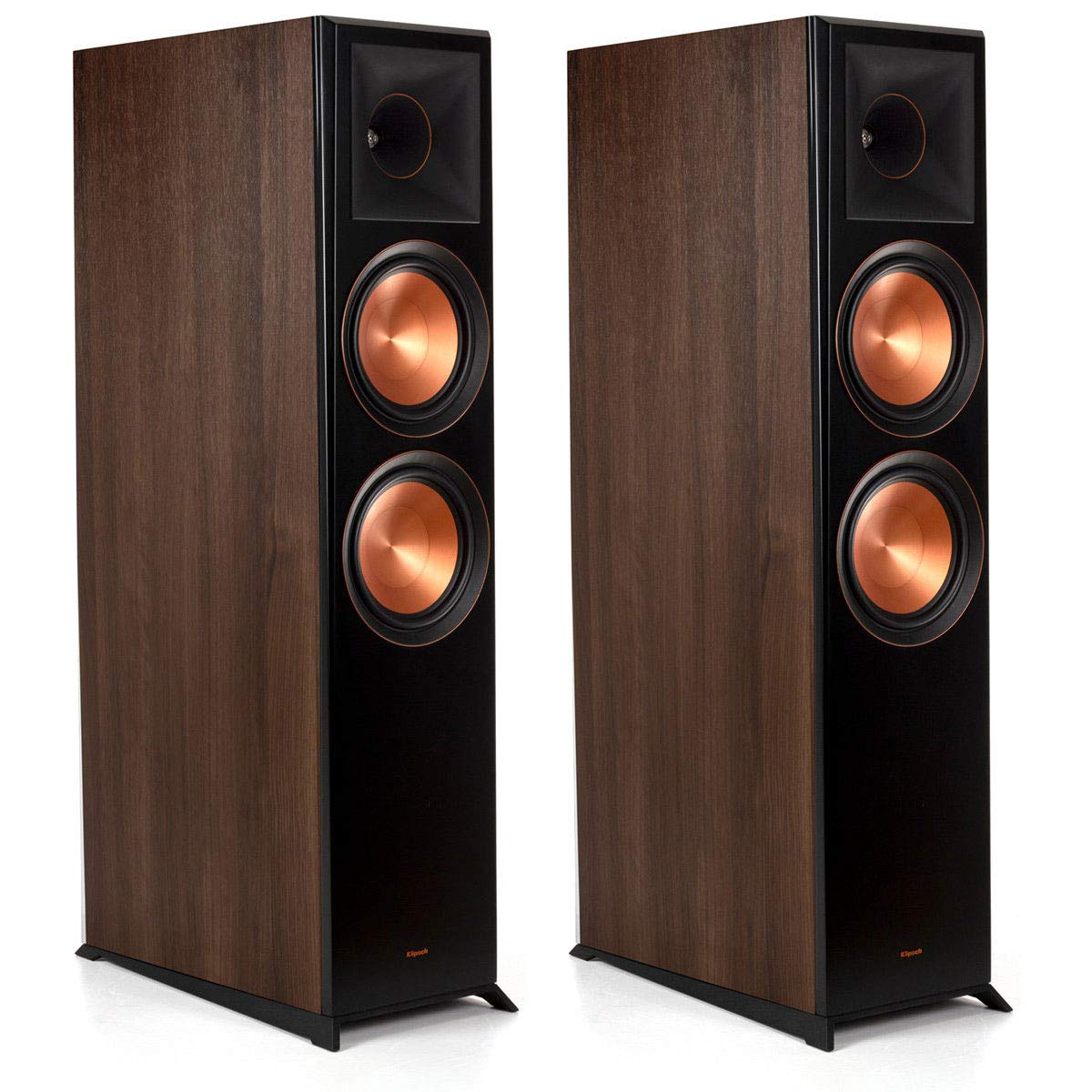 Klipsch RP-8060FA-W Walnut Floorstanding Speaker - Pair