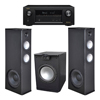 Premier Acoustic PA 8.12 Tower Speakers with PA-150 Subwoofer and Denon AVR-X2300W Receiver