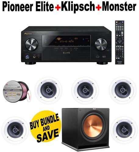 Klipsch R 1650 C 6 5 In Ceiling Speaker Review | Taraba Home