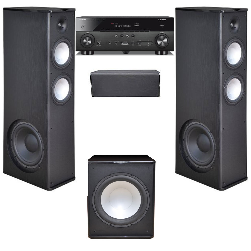 Premier Acoustic 3.1 Home Theater System with Yamaha RX-A780 Receiver and PA-150 Subwoofer