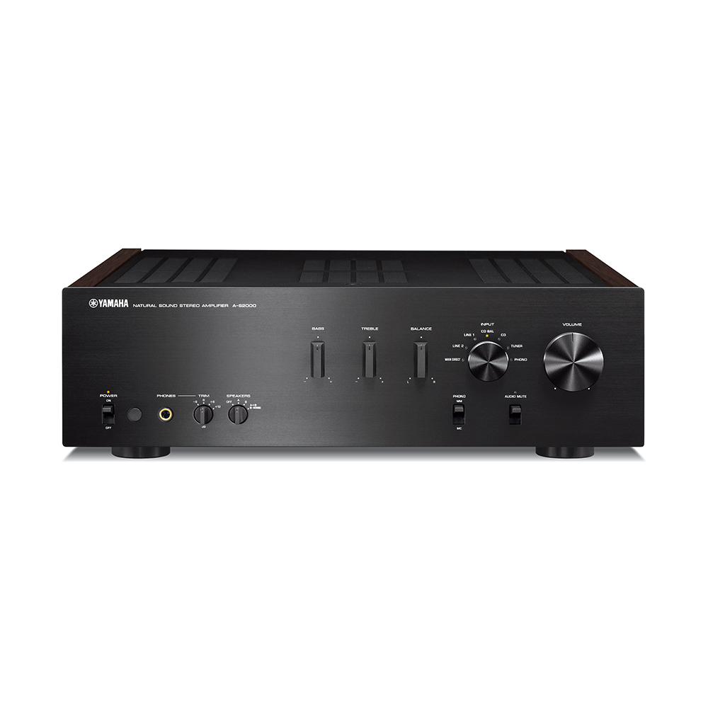 Yamaha A-S2000SL Black Hi-Fi Stereo Amplifier