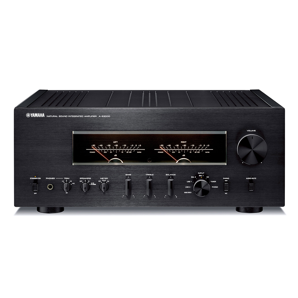 Yamaha A-S3000SL Black Hi-Fi Integrated Amplifier