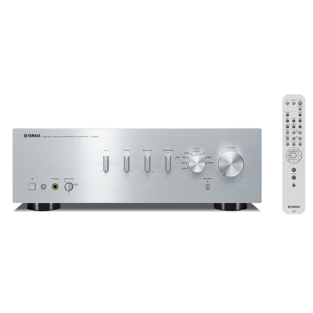 Yamaha A-S501BL Silver Hi-Fi Integrated Amplifier