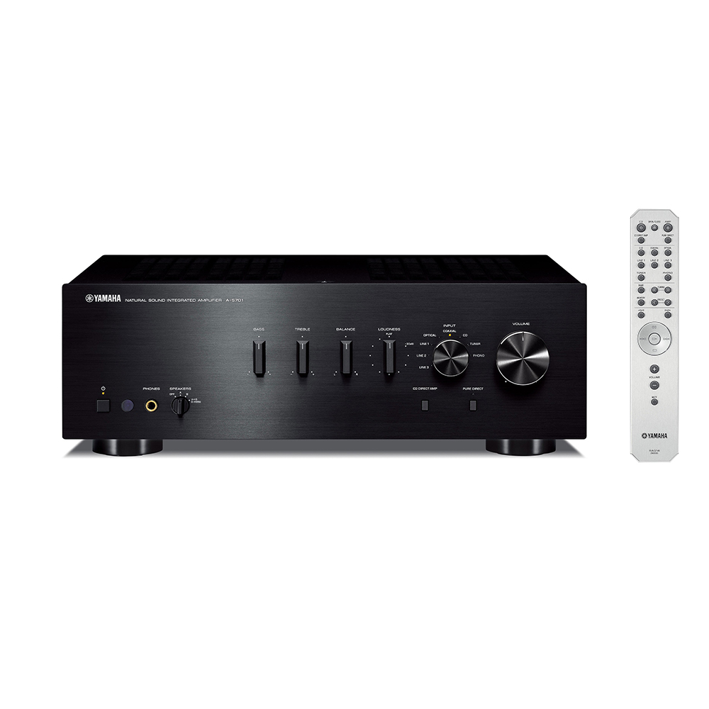 Yamaha A-S701BL Black Hi-Fi Integrated Amplifier