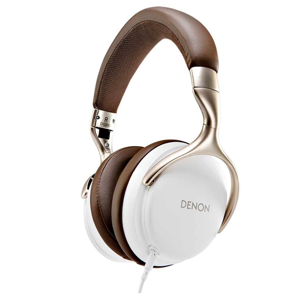 Denon AH-D1200WT White Over Ear Headphone