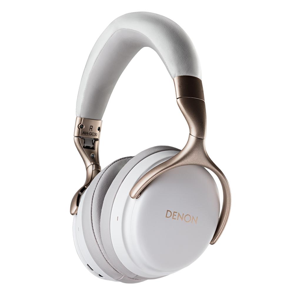 Denon AH-GC30WT White Premium Wireless Noise Cancellation Headphone