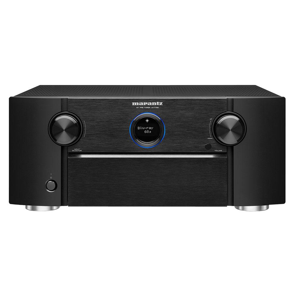 Marantz AV7705 Black 11.2 Channel Network A/V Surround Pre-Amplifier