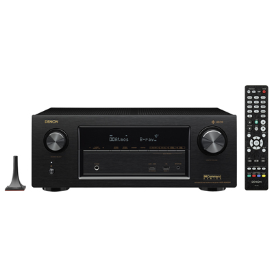Denon AVR-X3400H Black 7.2 Channel A/V Surround Receiver