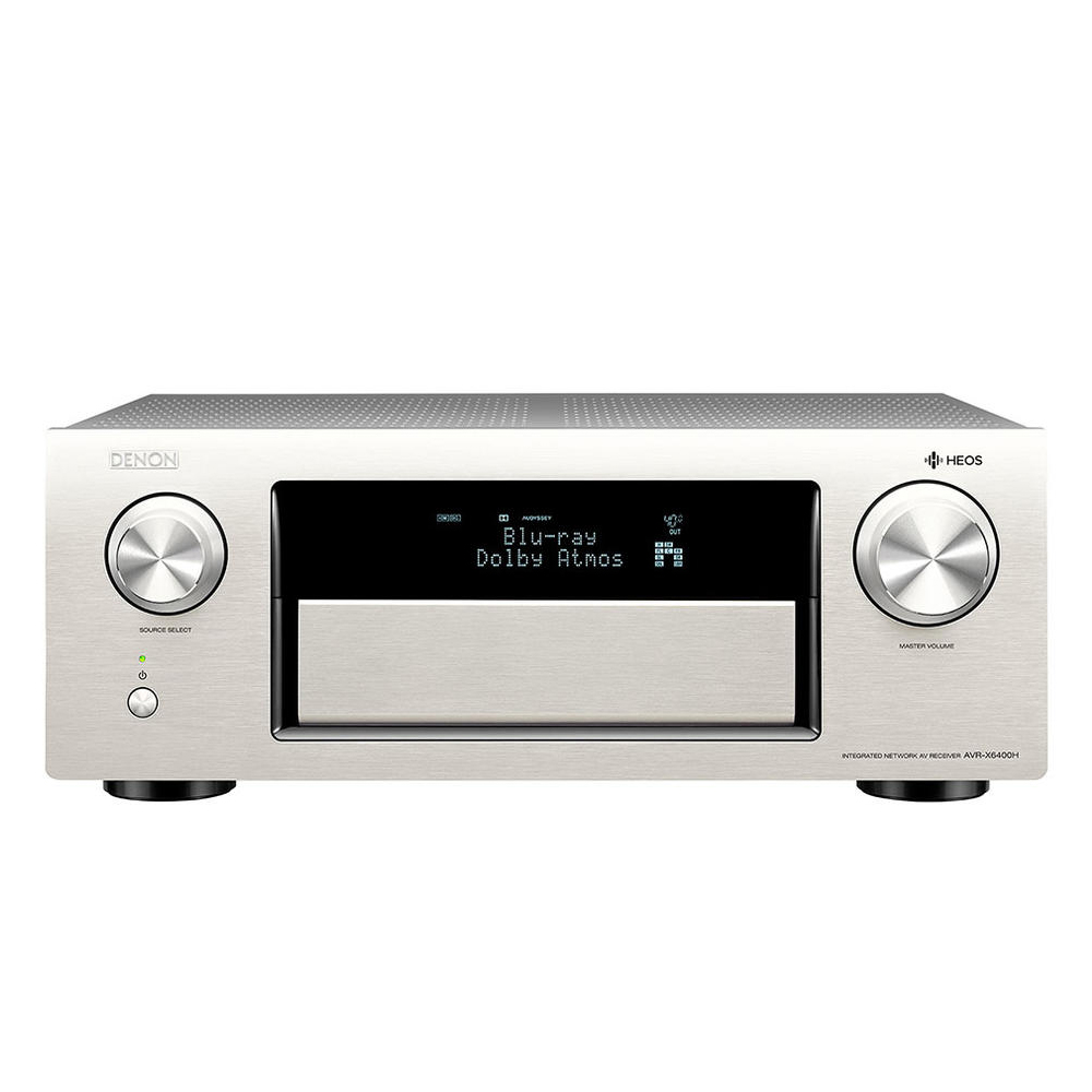 Denon AVR-X8500H-SL 13.2 Channel Network Receiver - Silver